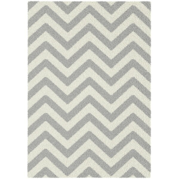 Manes Gray Area Rug by Ivy Bronx