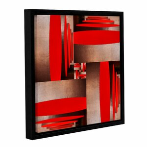 Pandora's Box Framed Graphic Art on Wrapped Canvas by Wade Logan