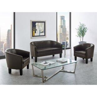 Aasen 3 Piece Living Room Set by Wrought Studio™