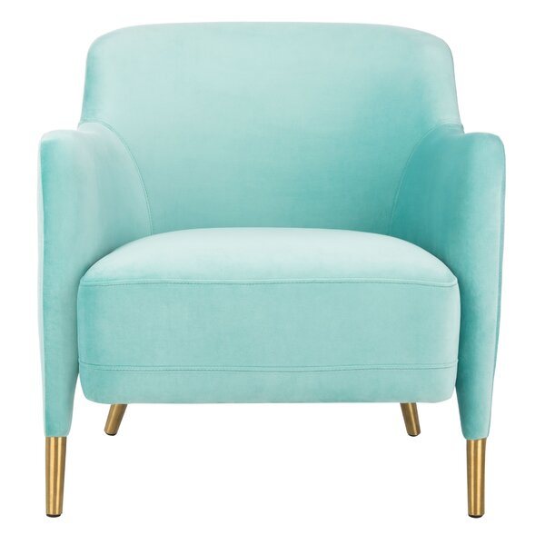 Georgianna Velvet Armchair by Mercer41 Mercer41