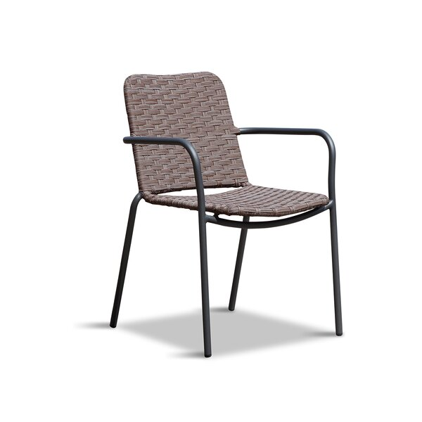Midway Stacking Patio Dining Chair by Wrought Studio