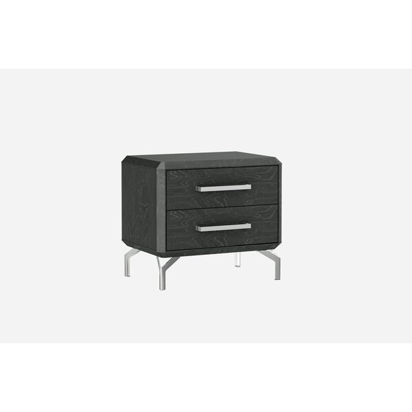 Demario 2 Drawer Nightstand by Orren Ellis