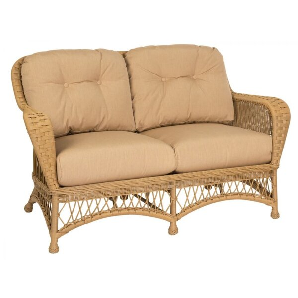 Sommerwind Loveseat with Cushions by Woodard