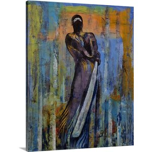 'Ninja Warrior' by Michael Creese Painting Print on Wrapped Canvas by Great Big Canvas