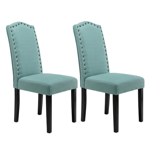 Price comparison Mourya Upholstered Dining Chair (Set of 2) by Winston Porter
