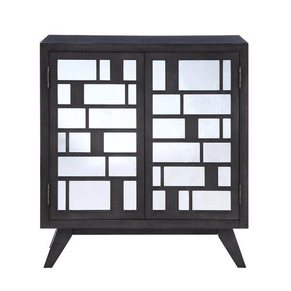Scannell 2 Door Mirrored Accent Cabinet by Corrigan Studio Corrigan Studio