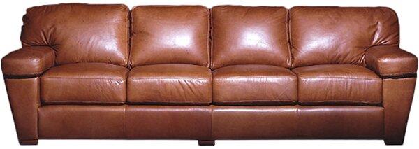 Prescott Leather Sofa by Omnia Leather