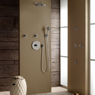 12 Right Angle Shower Arm by Jado
