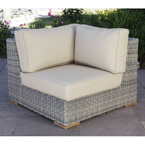 Corsica Corner Chair with Cushions by Madbury Road