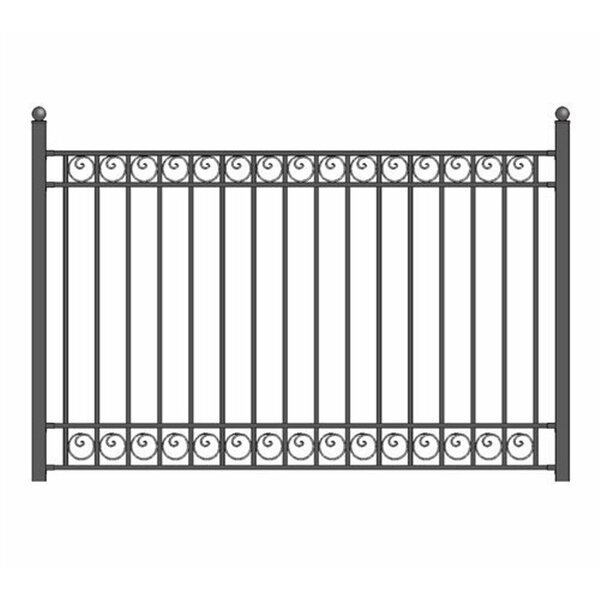 5 ft. H x 5.5 ft. W Dublin DIY Unassembled Fence Panel by ALEKO