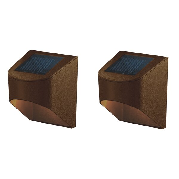 Solar 2 Light LED Deck Light (Set of 2) by Deck Impressions
