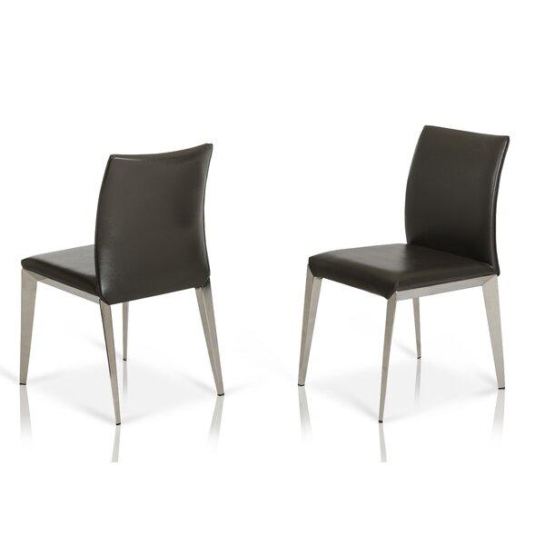 Clower Modern Parsons Dining Chair (Set of 2) by Orren Ellis