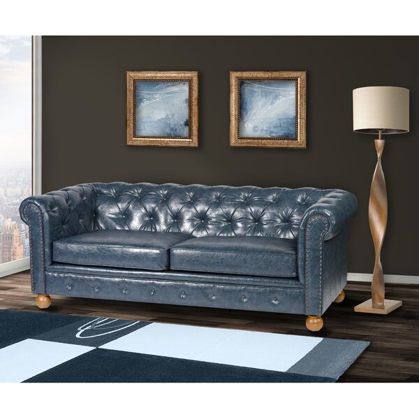 New Look Collection Josanna Chesterfield Sofa by Millwood Pines by Millwood Pines