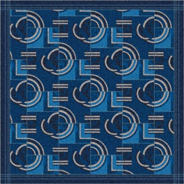 Pastiche Modernes Phantom Blue Area Rug by Milliken