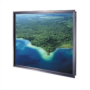 Da-Plex Rigid Rear Black Fixed Frame Projection Screen Da-Lite