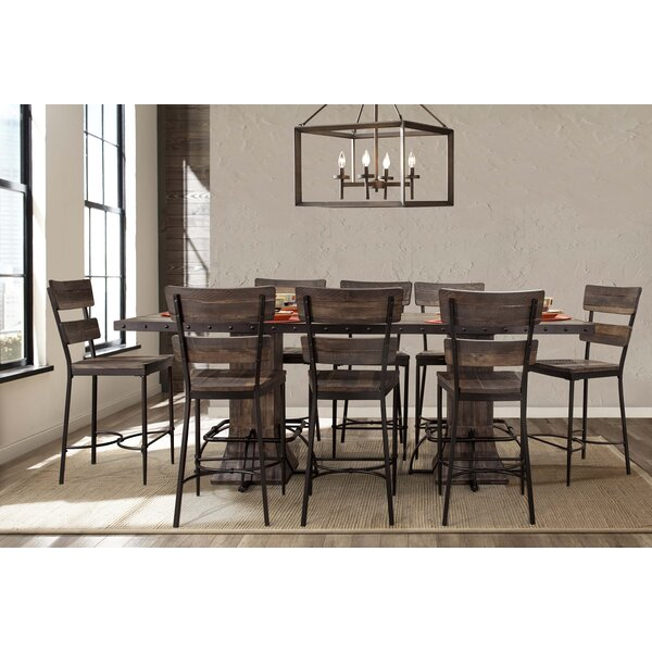 Cathie 9 Piece Counter Height Dining Set by Gracie Oaks