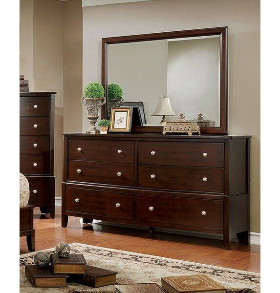 Kennerson 6 Drawer Dresser by Charlton Home