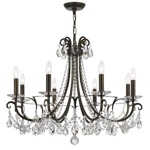 Roesler 8-Light Crystal Chandelier