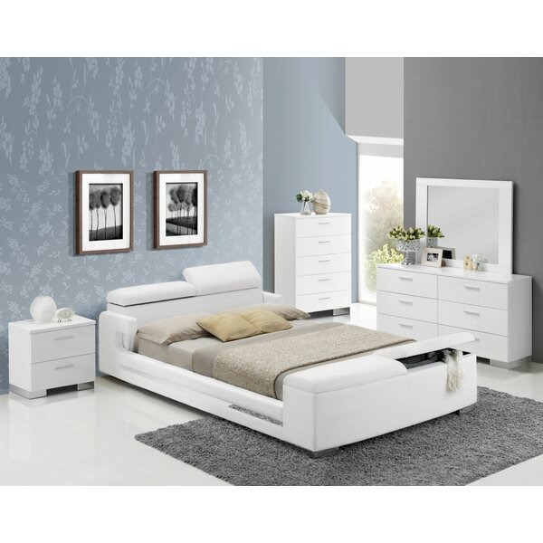 Stadtfeld Upholstered Storage Platform Bed by Orren Ellis