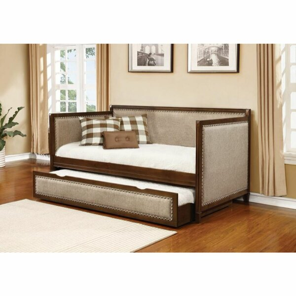 Bonaira Twin Daybed with Trundle by Red Barrel Studio Red Barrel Studio