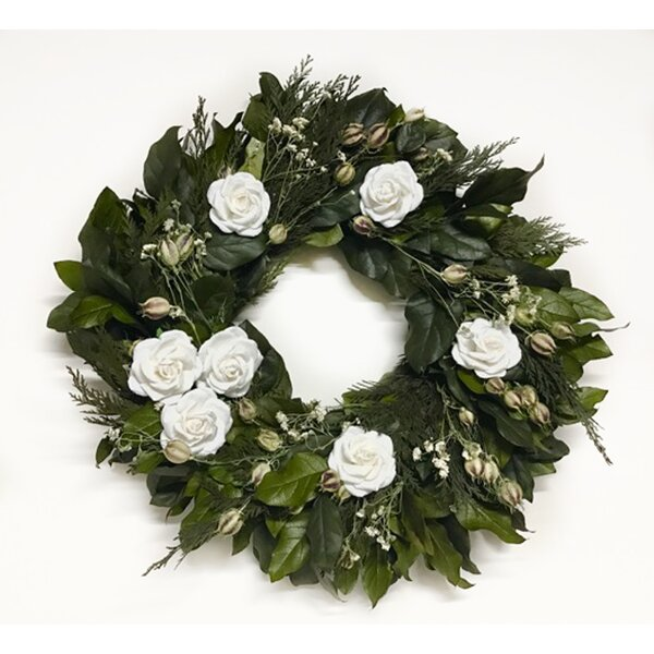 Pure Bliss 22 Wreath by Dried Flowers and Wreaths LLC