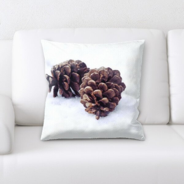 Winter Feeling (64) Throw Pillow by Rug Tycoon
