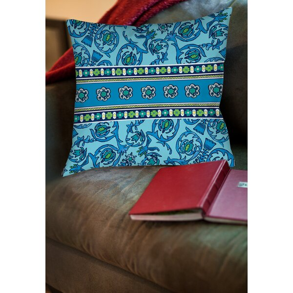 New Beginnings Printed Throw Pillow by Manual Woodworkers & Weavers