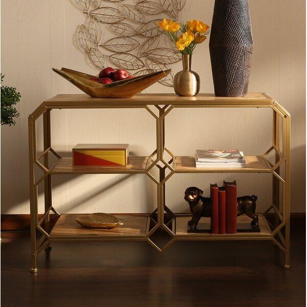 Spraggins Wood and Metal Console Table by Corrigan Studio Corrigan Studio®