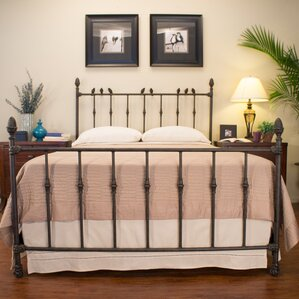 georgetown panel bed - Brass Beds
