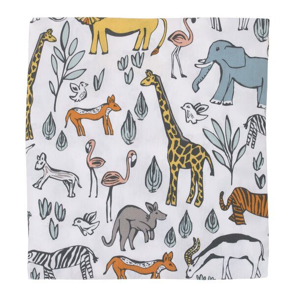 Safari Fitted Crib Sheet by DwellStudio