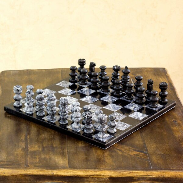 Hand-Crafted Chess Game Set by Novica