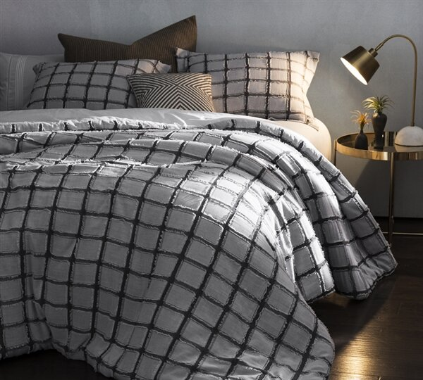 Beasley Frayed Edgings Duvet Cover by Williston Forge