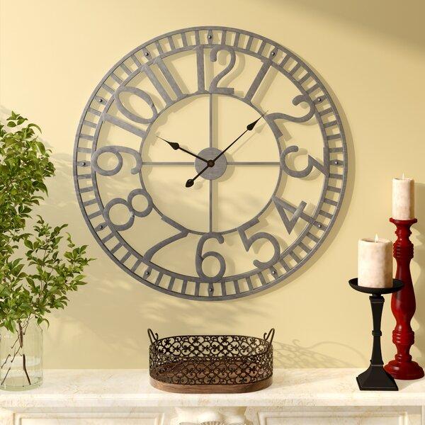 Strathern 32 Wall Clock by Three Posts