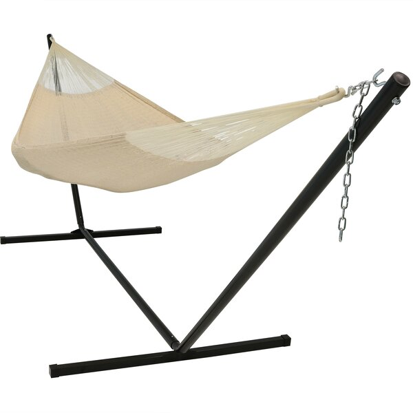 Kelsea Double Classic Hammock with Stand by Freeport Park Freeport Park
