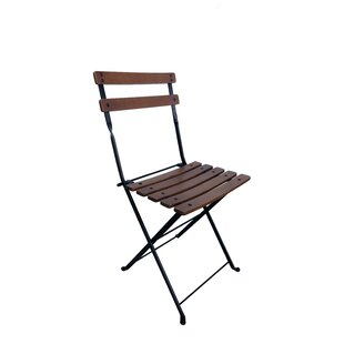 French Café Bistro Folding Patio Dining Chair Set Of 2