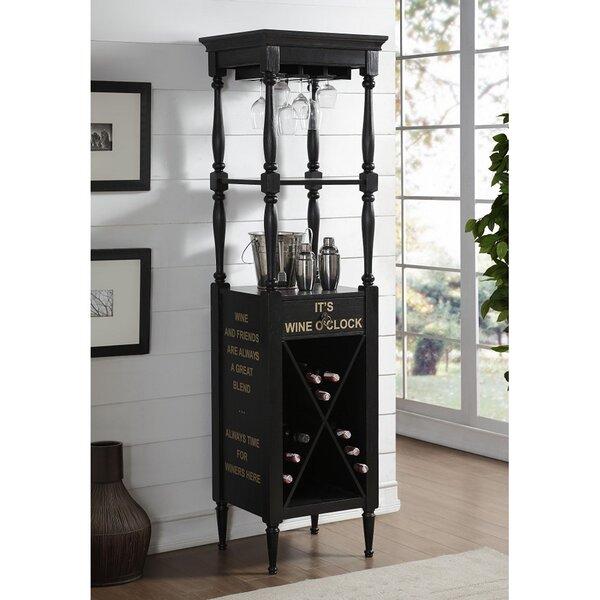 Sison Wood Bar with Wine Storage by Rosalind Wheeler Rosalind Wheeler