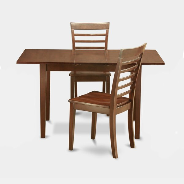 Balfor 3 Piece Extendable Dining Set by Andover Mills Andover Mills