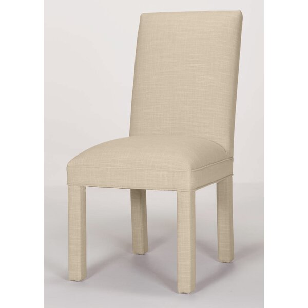 Candia Solid Upholstered Parsons Chair by Ebern Designs Ebern Designs