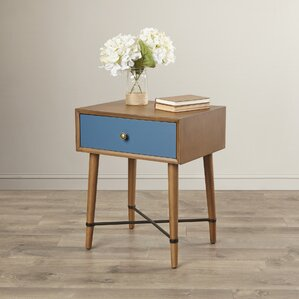 Rashee End Table With Storage by Langley Street