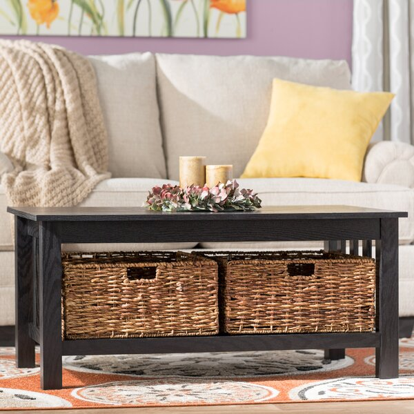 Denning Storage Coffee Table By Andover Mills.