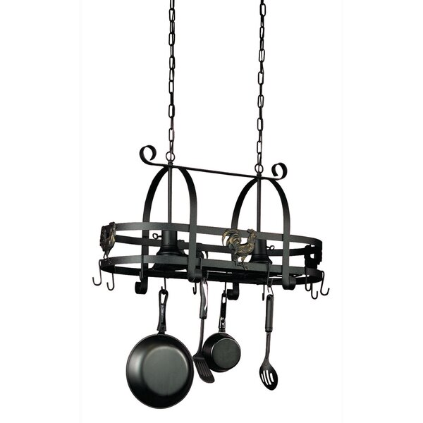 Souders Hanging Kitchen Island with 2 Light Pendant by Laurel Foundry Modern Farmhouse