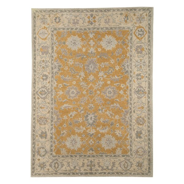 Angela Hand-Tufted Tan/Beige Area Rug by Bloomsbury Market