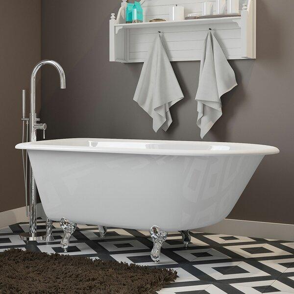 55 x 30 Clawfoot Bathtub by Cambridge Plumbing