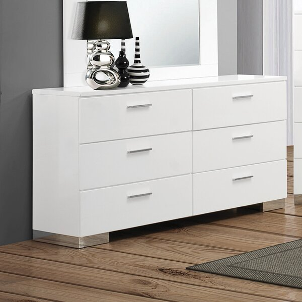 Campton 6 Drawer Double Dresser by Orren Ellis