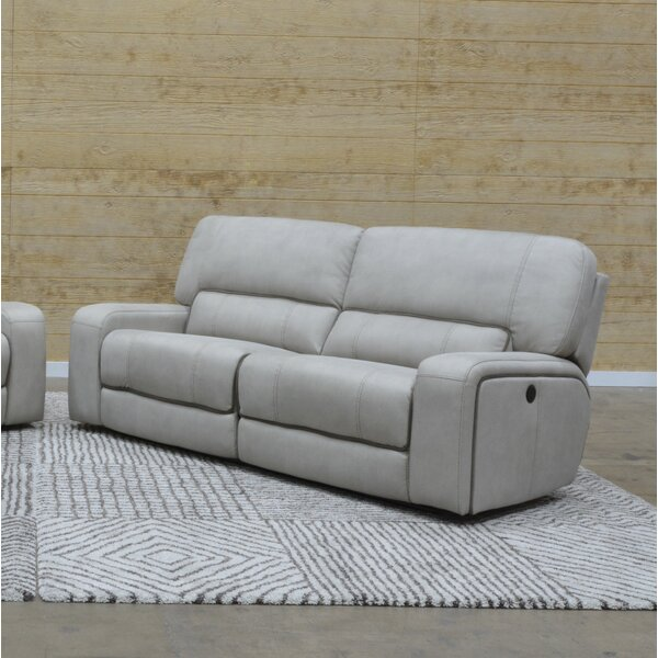 In Vogue Aleverson Reclining Sofa by Latitude Run by Latitude Run