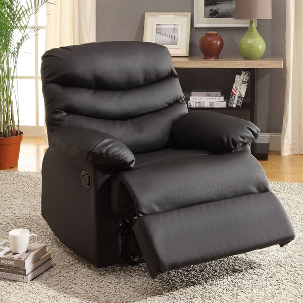 Baley Upholstered Manual Rocker Recliner by A&J Homes Studio