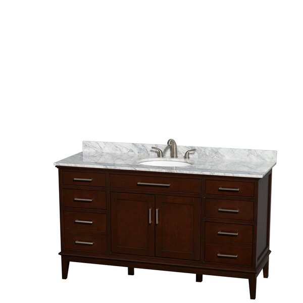 Hatton 60 Single Bathroom Vanity Set by Wyndham Collection