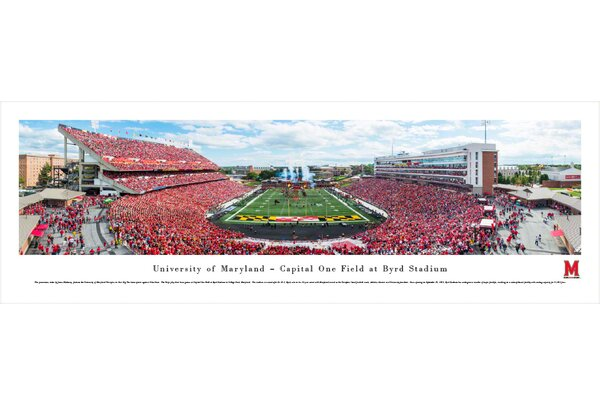 NCAA Maryland, University of by James Blakeway Photographic Print by Blakeway Worldwide Panoramas, Inc