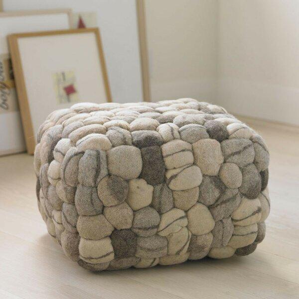 Soft Stone Pouf by VivaTerra