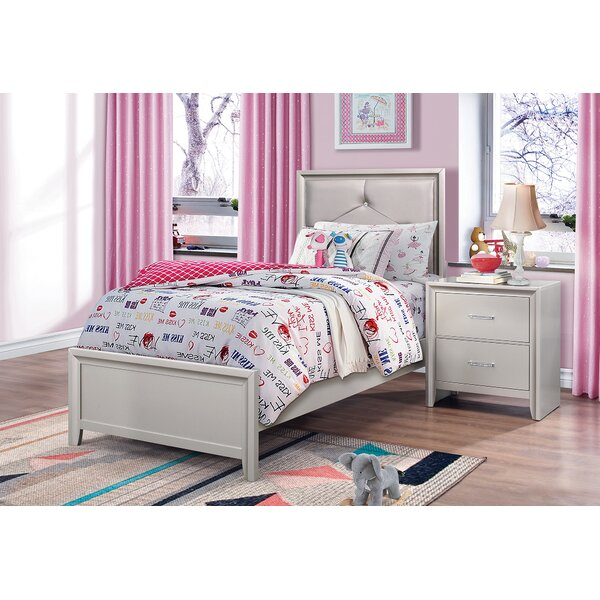 Lawncrest Upholstered Standard Bed by House of Hampton